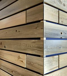 Reclaimed & pickled cedar wood siding / Barnwood Naturals, LLC www . Wood Plank Tile, Plank Walls, Wood Planks, Wood Paneling, Wood Siding, Exterior Siding, Wood Panel Walls, Wood Wall, Reclaimed Building Materials