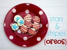 brown paper packages: {stars & stripes oreos}
