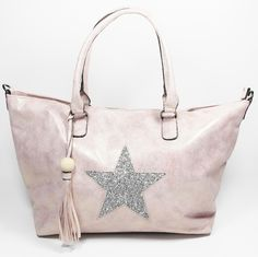 The Mya Glitter Star Bag in pink! This is the ultimate weekend bag for going away with the girls or your loved one, whilst looking absolutely fabulous! #stellar #mode #stellarmode #handbag #pinkbag #star #starbag #womensfashion #weekendbag #onlineshopping #shop #tassle #glitter #lookoftheday #casualstyle #totebag #boutique #style #fashion #fabulous