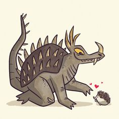 Anguirus by ~TheBeastIsBack on deviantART