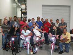 Technetics Build-A-Bike in Houston, TX
