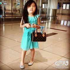 بانمک ترین دختر بچه اینستاگرام