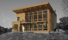 Project - Malagash Passive House - Architizer