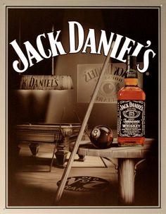 Placa jack daniel 39 s sinuca quadros e placas pinterest for Meuble jack daniels