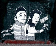 Beyond Banksy Project / Andreas Ragnar Kassapis