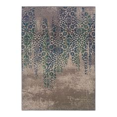 Hemera Abstract Grey & Blue Rug