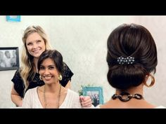 Hello everyone!! I'm so lucky to have the beautiful Maria here, from MommyLovesTech!! I'm also very excited to show you this beautiful, classic up-do!! Let me know what you think and if you try it!! Thanks so much for watching!!:)    Follow me!  Facebook: https://www.facebook.com/pages/HeyKayli/222550661132178  Twitter:  https://twitter.com/#!/Hey_K...