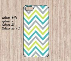 iphone 4/4s---mixed mint yellow stripes no.3 on Etsy