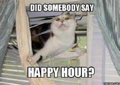 Did somebody say Happy Hour?