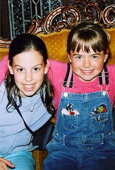 Katherine and her friend Kelly Cimorelli, Ann, Singer, My Love, Singers