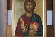 Спас и Богородица Christ, Ikon, Baseball Cards, Image, Icons