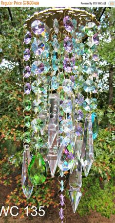 Wind Chime Crystal Wind Chime Crystal Sun by CrystalWindChime