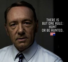 Frank Lucas?!  No, Frank Underwood!