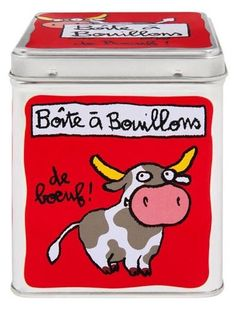 keladeco.com - boîte à #bouillons de #boeuf, idée deco maison, #boite cuisine,  boite valérie nylin - Derriere la porte DLP