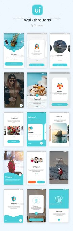 Buy Material Design UI KIT - Walkthroughs by Design_GrapahMA on GraphicRiver. Material Design app For Android. it features 15 unique screens .it well organized and perfectly layered making it eve. Web Design, Ios App Design, Android Design, Site Design, Flat Design, Graphic Design, Interface Web, User Interface Design, Ui Kit