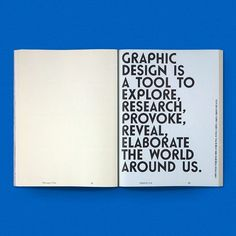 """drawdownbooks: """"Graphic 18: Workshop / Available at www.draw-down.com / Concept and design: Na Kim / This issue highlights sixteen workshops on graphic design mounted between 2009 and 2011. It revisits these workshops—held around the world by an..."""