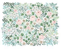 There is something about Finnish artist Anna Emilia Laitinen's work that makes me wannasnuggle up to it. The soft, fantastical details of her watercolors are so warm,poetic and innocent. It's no wonder her illustrations can be found in children's books and as prints on a collection of Jacadi