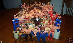 I had the ring and a few of the wrestlers. Hulk Hogan. Junkyard Dog. Ricky Steamboat. A few others.