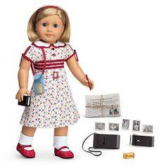 classic version American Girl Doll kit reporter dress Retired.