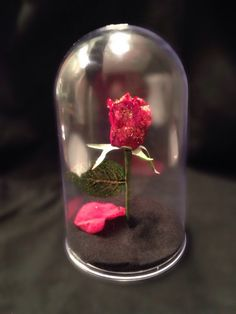 Enchanted Rose wedding centerpiece or by MagicPrincessWhitney