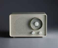 Braun Radio | They were masters of radio design.