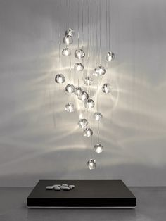 Sculptural elements of the Precious Design Collection mesmerise with light. Amazing spaces can also be found on City Lighting Products Houzz page!  http://www.houzz.com/pro/citylightingstl/city-lighting-products