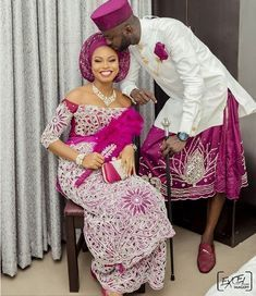 nigerian dress styles For an Igbo man looking for how to dress culturally for your traditional wedding, here are 6 fab photos of Igbo grooms in george wrappers and shirts attire African Bridal Dress, African Bridesmaid Dresses, African Wedding Attire, African Lace Dresses, Latest African Fashion Dresses, African Attire, African Weddings, Nigerian Wedding Dresses Traditional, Traditional Wedding Attire