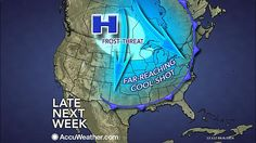 Looks as if fall like weather is set to pay the region a visitby the end of next week...http://tinyurl.com/p9lb4ht