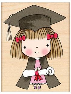Penny Black Rubber Stamps Graduate