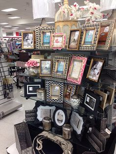 Organizing Hair Accessories, Home Gadgets, Tk Maxx, Store Displays, Pretty Pictures, Homemaking, Staging, Marshalls Store, Picture Frames