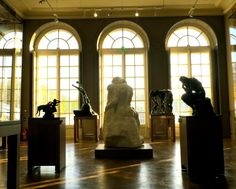 After a three-year renovation the historic Hôtel Biron, home to the Rodin museum since reopens its doors after a much-needed makeover. Vacation Wishes, Dream Vacations, Rodin Museum, Paris France, Shadows, Renaissance, Kiss, Doors, Sculpture