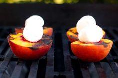 BBQ Peach Cobbler