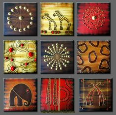 abstract african art - Google Search