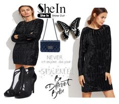 """#6/6 Shein"" by ahmetovic-mirzeta ❤ liked on Polyvore featuring Wall Pops!"