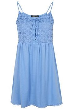 PETITE Crochet Lace Sundress