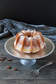 Bundt cake de mantequilla y anís. - To be Gourmet