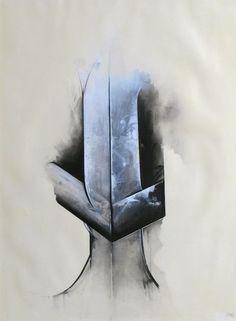 Jay DeFeo, White Knight, 1977. Art Experience:NYC http://www.artexperiencenyc.com/social_login
