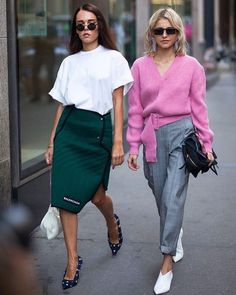 Fall Street Style Outfits to Inspire Herbst Streetstyle Mode / Fashion Week Week Fashion Mode, Fashion Week, New York Fashion, Fashion Looks, Fashion Outfits, Fashion Trends, Style Fashion, Fashion Stores, Ootd Fashion