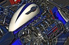 Honda Valkyrie Tank And Motor Print by Corky Willis Atlanta Photography Brat Motorcycle, Brat Bike, Honda Valkyrie, Bike Photo, Honda Motorcycles, Sidecar, Motorbikes, Atlanta, Biker