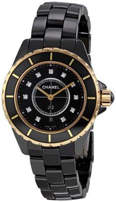 Chanel Men's H2543 J12 Diamond Dial Watch « Impulse Clothes