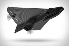 Drone design en carbone Flyer Carbon - #HighTech - Visit the website to see all photos http://www.arkko.fr/drone-design-en-carbone-flyer-carbon/