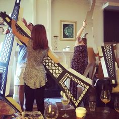 #sneakpeak #parisienneparty #parisparty #frenchparty #frenchtheme #babyshower #eiffeltower How many people does it take to put together a party prop?