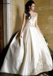 beautiful Irish wedding dress