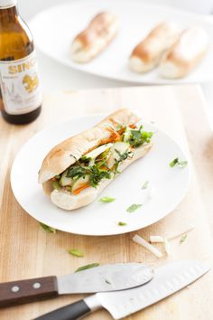 guide party foods serious eats crispy bahn mi spring rolls with chili ...