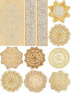doilies - Free Collage Sheets by Art and imagesbykim