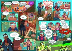 HEY EVERYONE! So, around two years ago I made this comic for a zine about what kinds of adventures the two Grunks might go on after the end of Gravity Falls. I finally got permission to post it, so. Gravity Falls Theory, Gravity Falls Comics, Gemini Birthday, Tumblr Pages, Marker Art, Zine, Mystery, Fan Art, Adventure