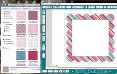 SUPER EASY drag-and-drop method for using your own digital papers + pattern fill in Silhouette Studio