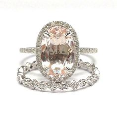 Oval Morganite Engag