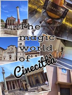 Things to Do While in Rome: A Visit to Cinecitta