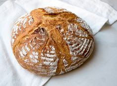 I have not met a carb I did not like. With this recipe for homemade crusty bread by Kitchen Curious, I can eat bread every single day.